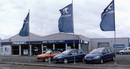 H J Phillips Peugeot dealership